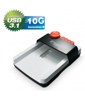 "Fantec HDD-Sneaker 2 2.5"" & 3.5"" HDD Docking Station with USB 3.1"