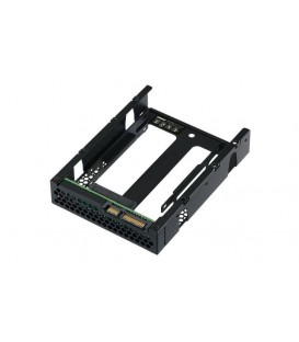 "QNAP QDA-A2AR Dual 2.5"" SATA HDD/SSD to 3.5"" SATA Adapter Converter with RAID Support for PC and NAS"