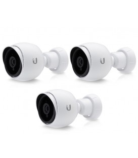 UBIQUITI UniFi® Video Camera G3 HD 1080p PoE IP Camera 3-Pack - UVC-G3-Bullet-3