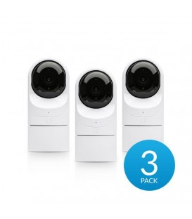 UBIQUITI UniFi® Video Camera G3 FLEX HD 1080p PoE IP Camera 3-Pack - UVC-G3-FLEX-3