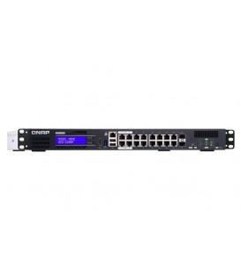 QNAP QGD-1600P-4G Hybrid PoE Managed Switch con funzioni NAS, NVR e Router