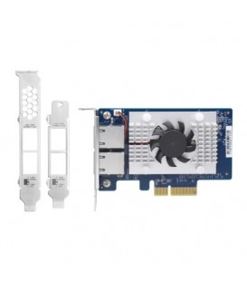 QNAP QXG-10G2T-107 Dual-port 10GbE PCIe Gen2 x4 Network Expansion Card