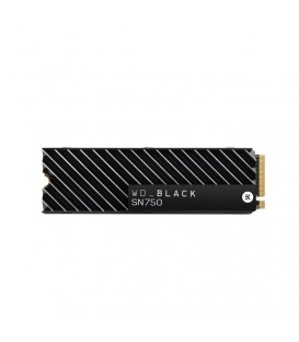 WD Black™ SN750 PCIe Gen3 x4 NVMe SSD M.2 2280 500GB WDS500G3XHC (With Heatsink)