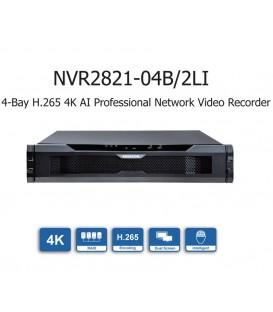 KEDACOM NVR2821-04016B/2LI 16CH 4-Bay H.265 4K AI Professional Network Video Recorder