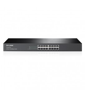 Tp-Link TL-SF1016 16-Port Unmanaged 10/100M Rackmount Switch