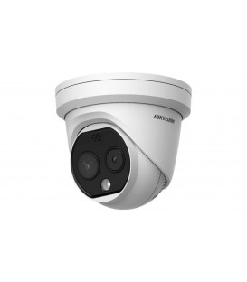 HIKVISION DS-2TD1217B-3/PA Thermographic Body Temperature Measurement Turret Camera