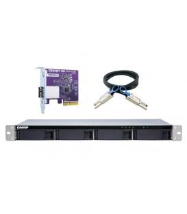 QNAP TL-R400S 4-bay Rackmount SATA JBOD Storage Enclosure