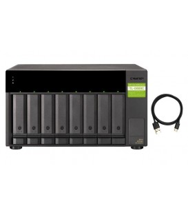 QNAP TL-D800C 8-bay USB 3.2 Gen 2 Type-C JBOD Storage Enclosure