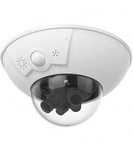 MOBOTIX D16B DualDome Outdoor IP Camera