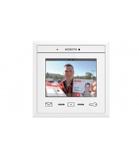 MOBOTIX MxDisplay+ IP Intercom with Touchscreen