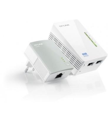 TP-Link TL-WPA4220KIT AV500 2-Port WiFi N300 Powerline Extender Kit