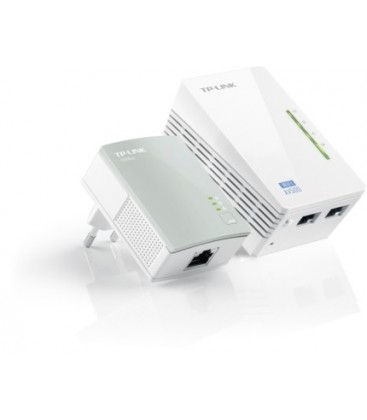 TP-Link TL-WPA4220KIT AV500 2-Port WiFi N300 Powerline Extender Kit