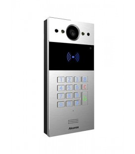 Akuvox R20K Compact SIP Video Doorphone with Keypad, Card Reader & In-Wall Mounting Kit