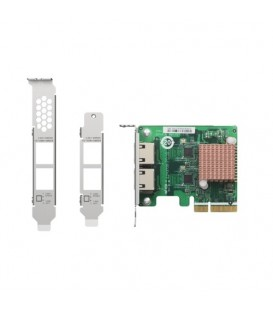 QNAP QXG-2G2T-I225 Dual-port 2.5 GbE PCIe Gen2 x1 Network Expansion Card