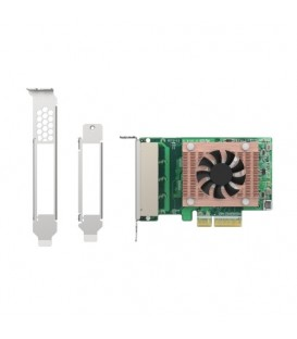 QNAP QXG-2G4T-I225 Quad-port 2.5 GbE PCIe Gen2 x4 Network Expansion Card