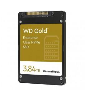 WD Gold™ Enterprise Class U.2 NVMe™ SSD 3,84TB WDS384T1D0D