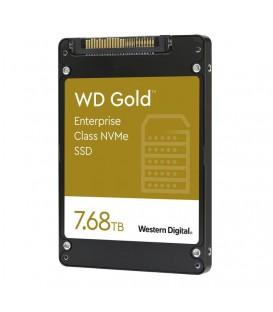 WD Gold™ Enterprise Class U.2 NVMe™ SSD 7,68TB WDS768T1D0D