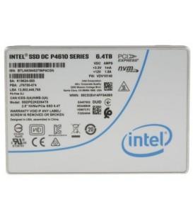 Intel DC P4610 Series U.2 NVMe 6.4TB - SSDPE2KE064T801