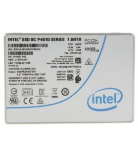 Intel DC P4610 Series U.2 NVMe 7.6TB - SSDPE2KE076T801