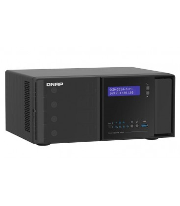 QNAP QGD-3014-16PT-8G Guardian Smart Edge PoE Switch with NAS, NVR  & Router Functions