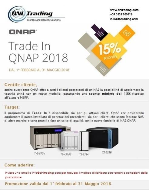 QNAP: il programma Trade In 2018